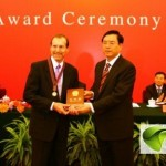 Jerome Belinson MD receives the China Friendship Award